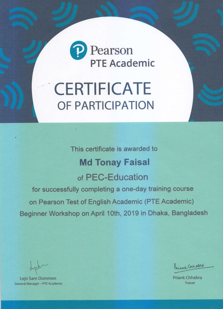PTE trainer's certificate-3