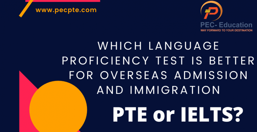 Which English test to choose, PTE or IELTS
