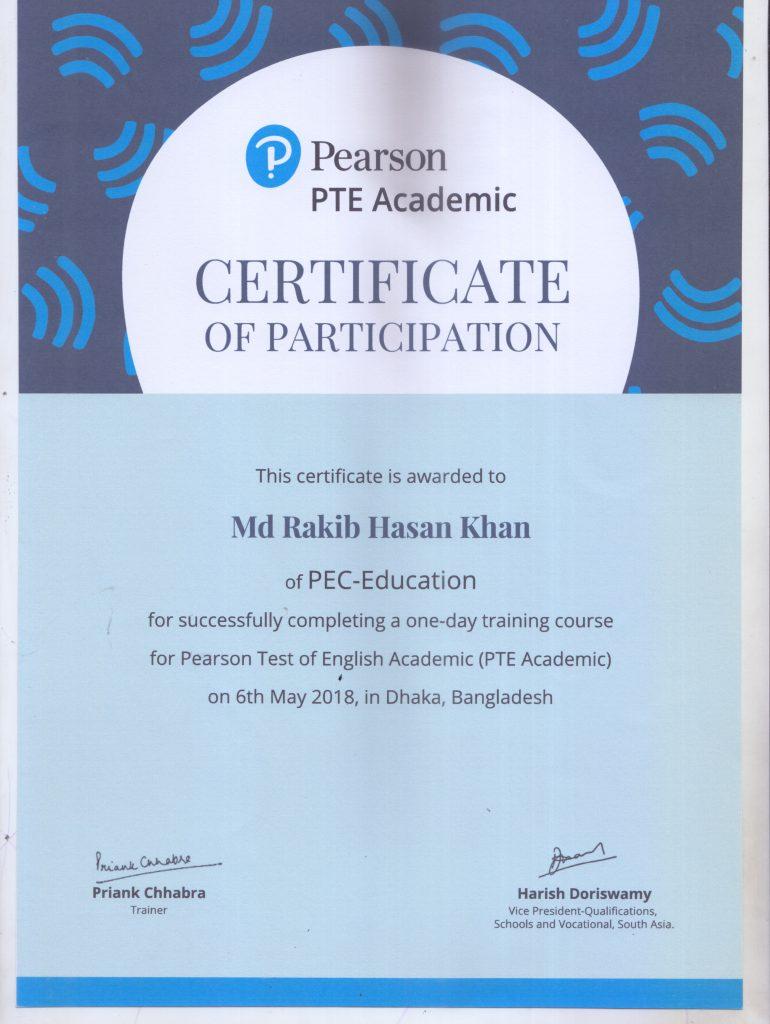 Trainer's certificate-2